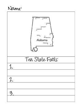 50 States Research Fact Book