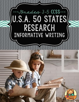 50 States Research Report: Multi-Draft Informative Writing for Grades 3-5 (CCSS)