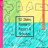 50 States Research Report & Activities