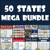 50 States Activities for Middle School - Bundle of Resources