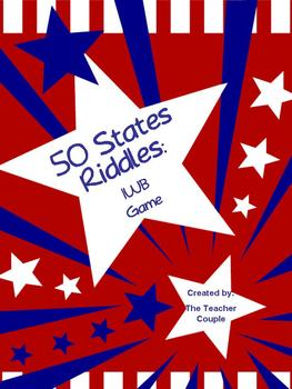 50 States Riddles - Interactive White Board Game