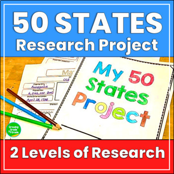 Social Studies Research Project: 50 States
