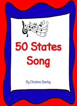 50 States Song BUNDLE - $SAVE