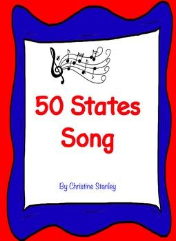 50 States Song BUNDLE - $SAVE