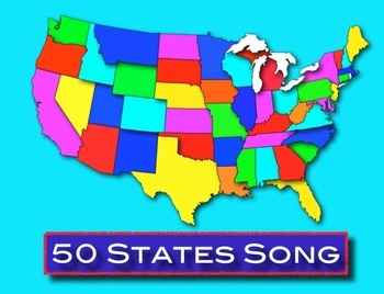 50 States Song mp3 - Kathy Troxel / Audio Memory