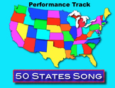 50 States Song mp3 Performance Track - Kathy Troxel / Audio Memory
