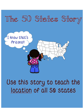 50 States Story - Remembering location of all 50 states