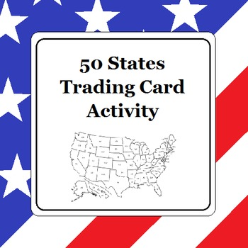 50 States Trading Card Activity