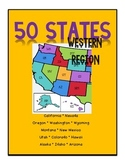 50 States - Western Region Packet