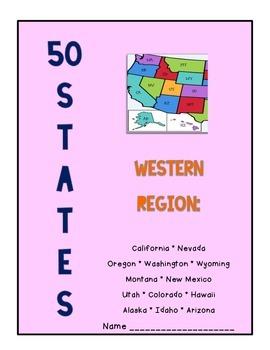 50 States - Western Region Packet