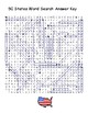 50 States Word Search Puzzle