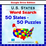 50 States Word Search Puzzles - U.S. States Geography Activity - Google