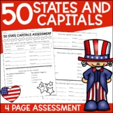 50 States and Capitals Test