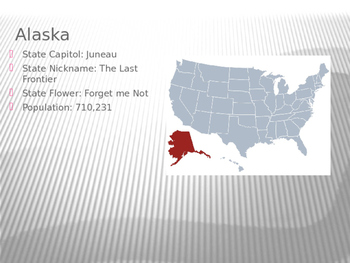 50 States and Capitols