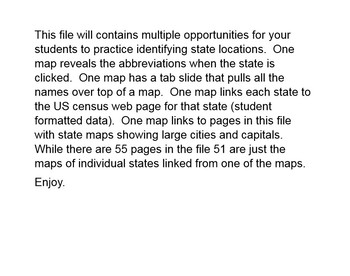 50 States and Maps