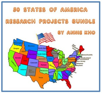 50 States of America Bundle - A Research Project