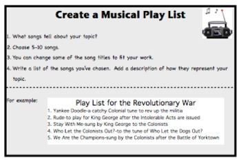 Wrap It Up: Differentiated, Student Selected, End of Unit Activities