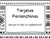 50 Tarjetas Parlanchinas: Vuelta al cole.