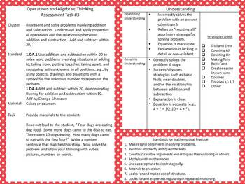 50 Task Cards - Common Core Math Assessment