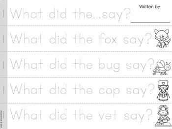 50 Teeny Tiny Books: CVC and Sight Word Sentences to Read and Write