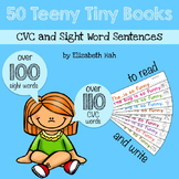 50 Teeny Tiny Books: CVC and Sight Word Sentences to Read