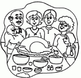 50 Thankgiving coloring pages