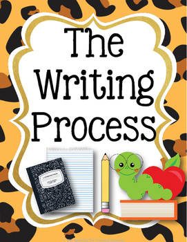 The Writing Process Posters - Jungle Zoo Safari Theme