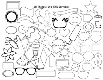 50 Things I Did This Summer