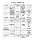 50 Things to Write/Draw