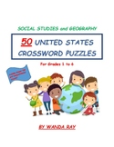50 UNITED STATES CROSSWORD PUZZLES