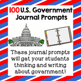 U.S. Government Journal Prompts