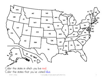 {Geography} 50 States Guide with Road Trip Activity