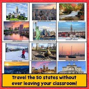 50 United States Regions PowerPoint Photos, New England Region