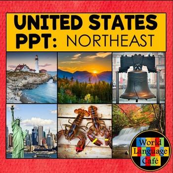50 United States Regions PowerPoint Photos, New England Region