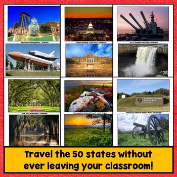 50 United States Regions PowerPoint Photos, Southeast Region