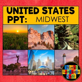 50 United States Regions PowerPoint Photos, Midwest Region