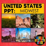 Midwest Region, States, United States PowerPoint Photos, Distance Learning