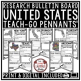 50 US States Activities United States Research Project- United States Geography