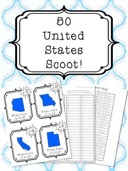 50 United States Scoot!