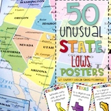 50 Unusual State Laws--- Posters