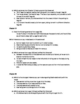50 unwind multiple choice questions common core aligned by kevin rh teacherspayteachers com Study Guide Format Winter Dreams Study Guide Answers