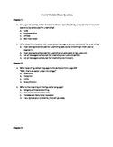 50 Unwind Multiple Choice Questions (Common Core Aligned)