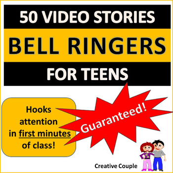 BELL RINGERS FOR TEENS! 50 VIDEO STORIES!