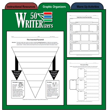 50 WRITERizers (Graphic Organizers for Planning and Writing)