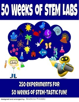 50 Weeks of STEM Labs - 250 STEM Project Ideas in 1 book f