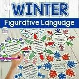Winter Writing Activity | Figurative Language Snowflakes