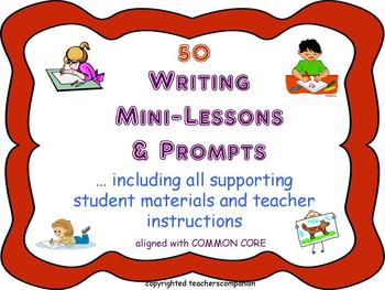 50 Writing Mini Lessons and Prompts