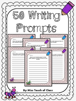 50 Writing Prompts For Students