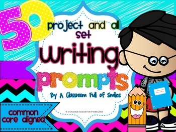 50 Writing Prompts. Project and All Set!