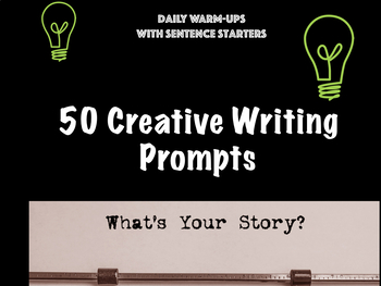 50 Writing Prompts for Fluency